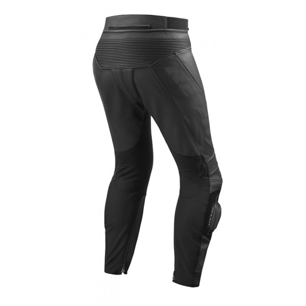 Rev'it Vertex GT leather summer trousers Black