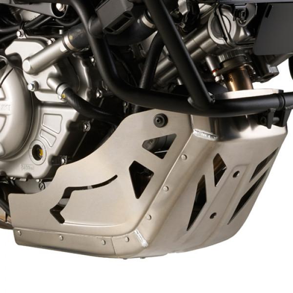 Kappa RP3101 oil carter protector in alluminium for Suzuki DL-650 V-Storm L2 2011 DL650 V-Storm 2017