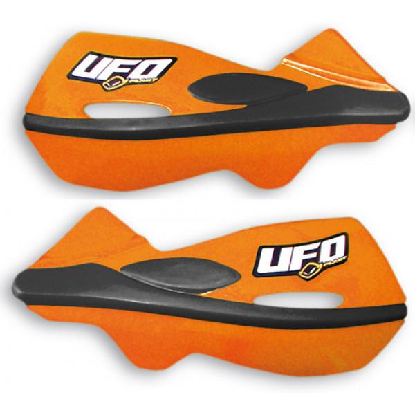 Ufo Patrol universal dual injection handguards Orange