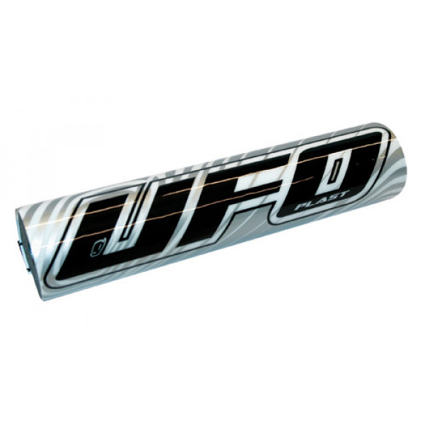 UFO Plast Handlebar protection for 2509 moto cross silver