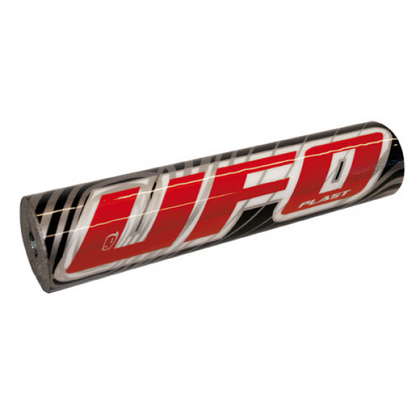 UFO Plast Handlebar protection for 2509 moto cross black red