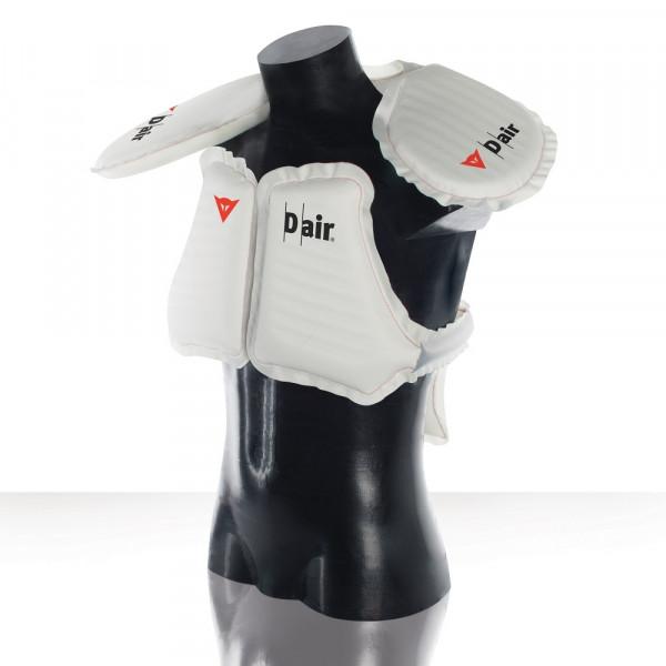 Giacca moto Dainese Cyclone D-Air Nero Bianco