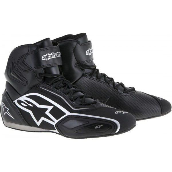 Alpinestars Faster-2 shoes Black Silver