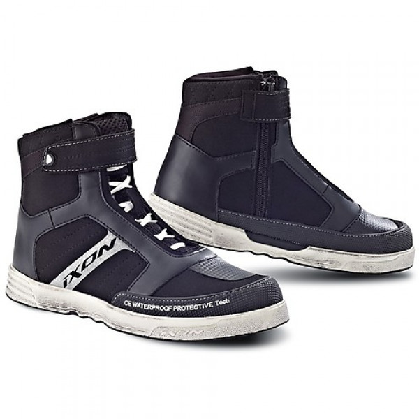Ixon woman shoes Slack black white
