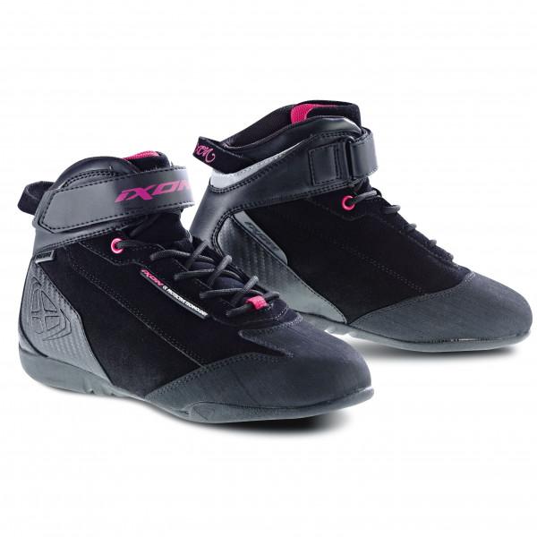 Ixon SPEEDER WP LADY woman shoes black pink