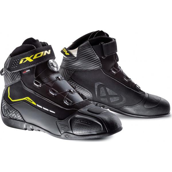 Ixon SOLDIER EVO shoes Black Bright Yellow