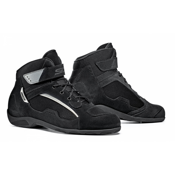Sidi Duna motorcycle shoes black black