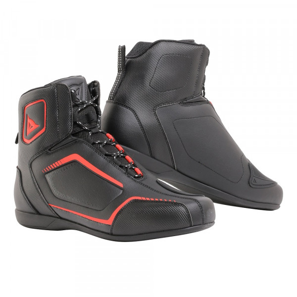 Dainese RAPTORS shoes black black fluo red