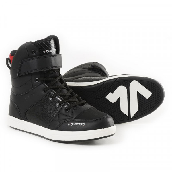 VQuattro MILANO ORIGINAL motorcycle shoes Black