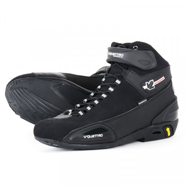 VQuattro Supersport WP motorcycle shoes Black