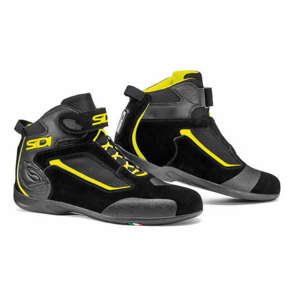 Sidi Gas shoes black black yellow