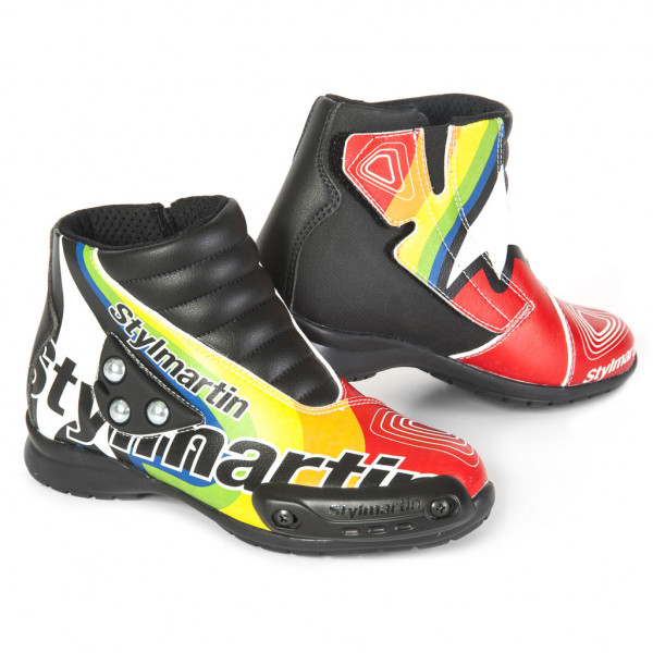 Stylmartin Speed JR S1 minimoto kid boots Special multicolor