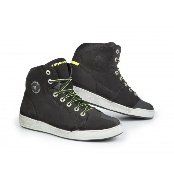 Stylmartin Seattle Evo shoes black vintage