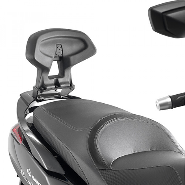 Kappa KTB6107 specific backrest for KYMCO DOWNTOWN 350 2015 e 125 ABS 15-16