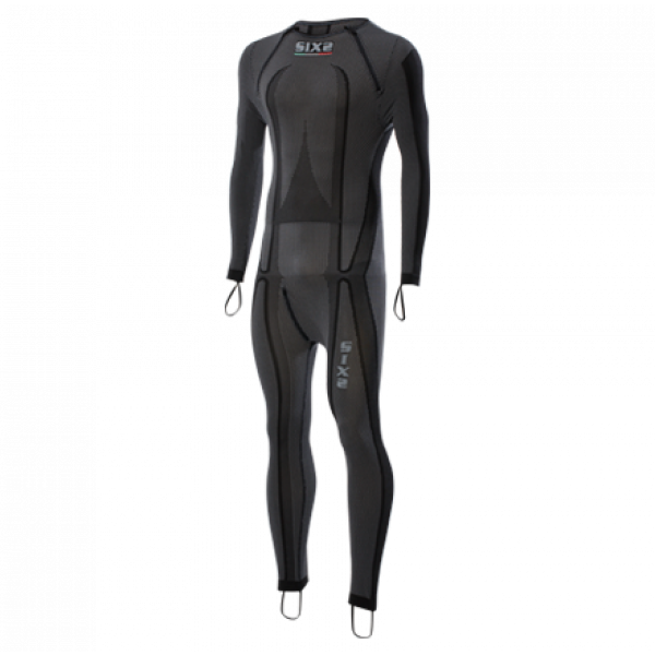 Sixs Racing underwear suit with elastic rings Black