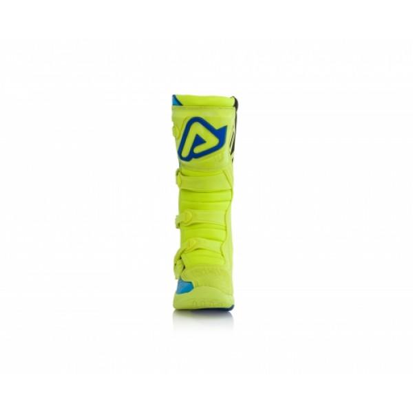 Acerbis X-Team cross boots Yellow Blue