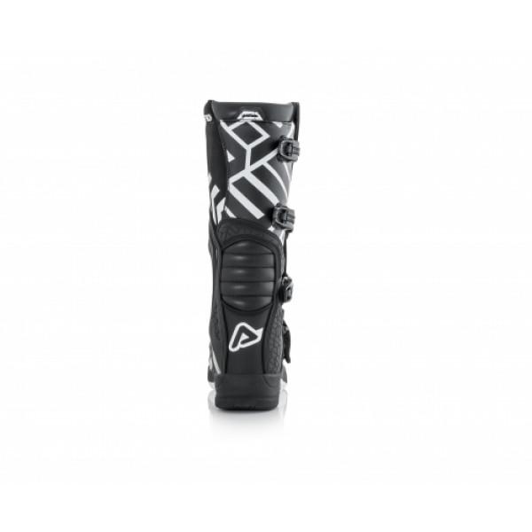 Acerbis X-Team cross boots Black White