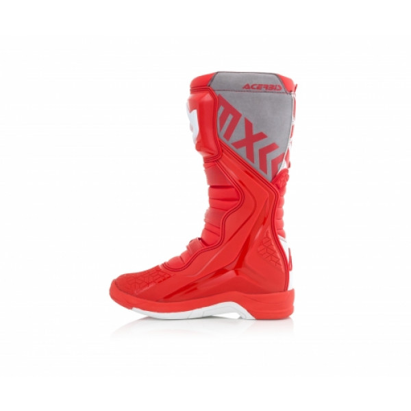 Acerbis X-Team cross boots Red White