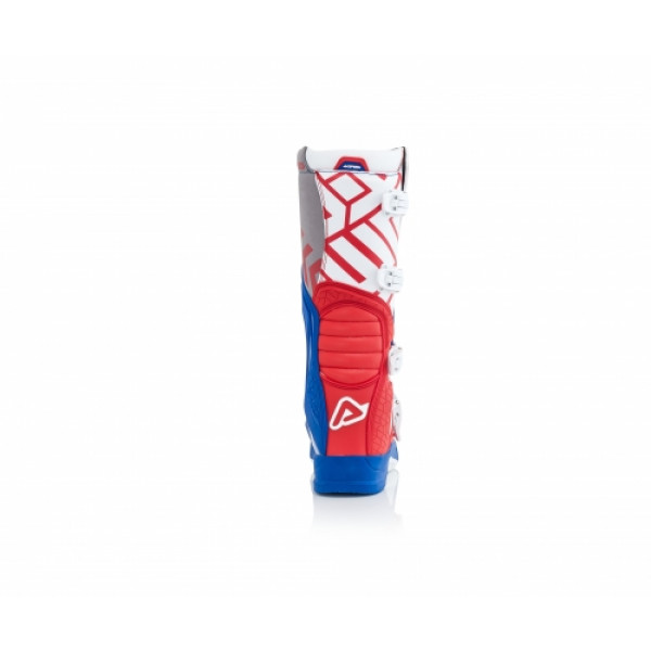 Acerbis X-Team cross boots Red Blue