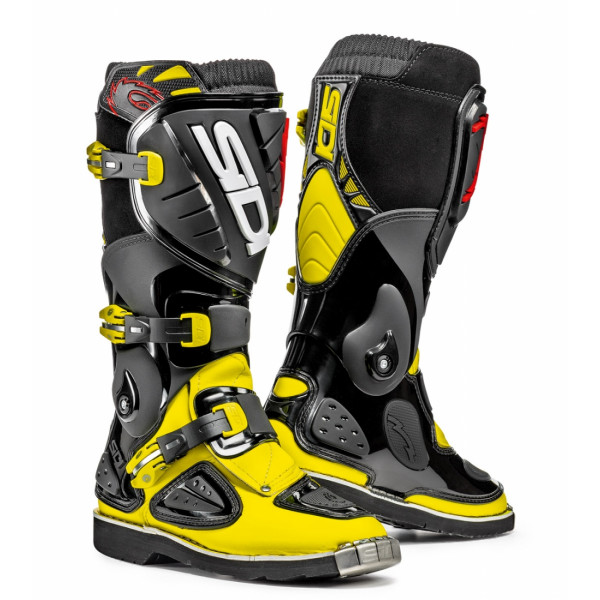 SIDI Youth Stinger Boots yellow fluo black