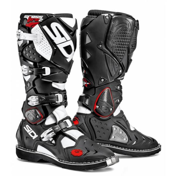 Sidi Crossfire offroad boots black white