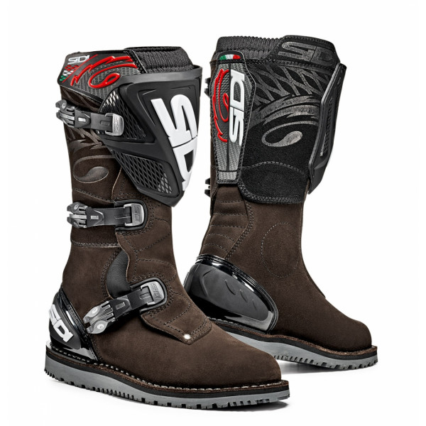 Sidi Trial Zero.1 offroad boots brown