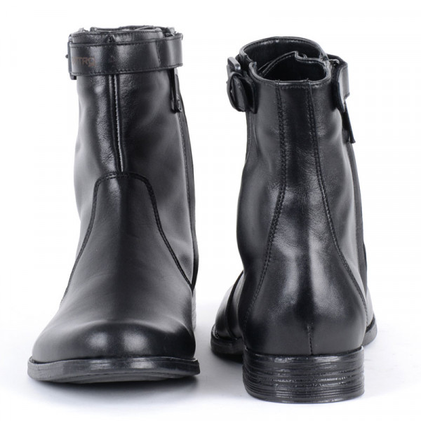 VQuattro LEGACY 2 leather motorcycle boots black