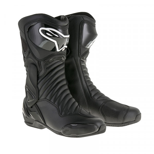 Alpinestars SMX6 V2 racing boots Black