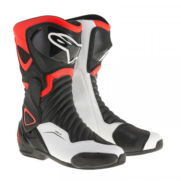 Alpinestars SMX6 V2 racing boots Black Red White