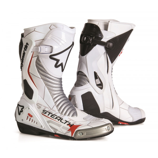 Stylmartin racing boots Stealth Evo white