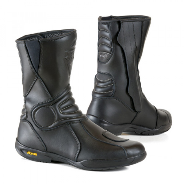 Prexport Road Evo leather boots Black