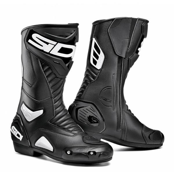 Sidi Performer racing boots black white