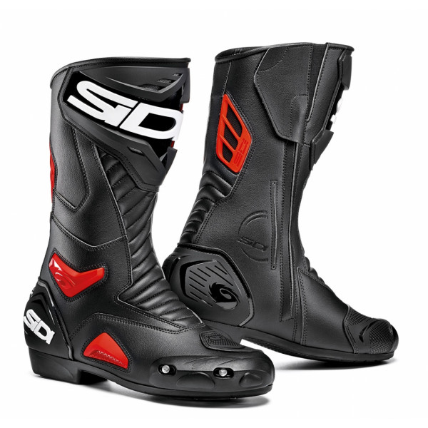 Sidi Performer racing boots black red