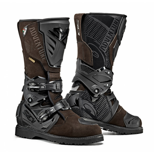 Sidi Adventure 2 Gore touring boots brown