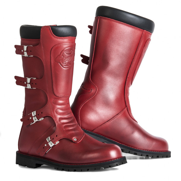 Stylmartin Continental touring boots red