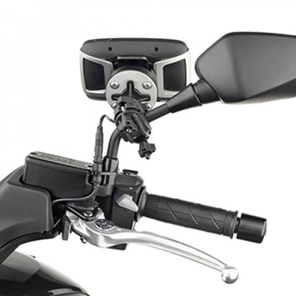 Kappa mounting support for Tom Tom Rider for tubolar from 8-35mm