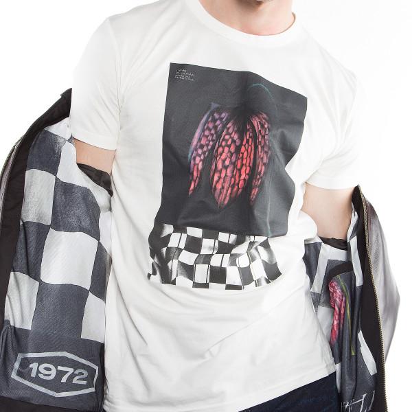Dainese72 DEMON-FLOWER72 t-shirt White