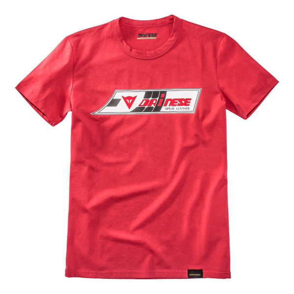 Dainese72 SPEED-LEATHER t-shirt Red
