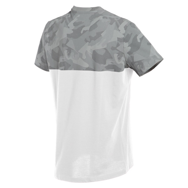 Dainese CAMO-TRACKS t-shirt White Athracite