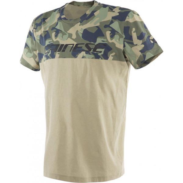 Dainese CAMO-TRACKS t-shirt Camo Camel