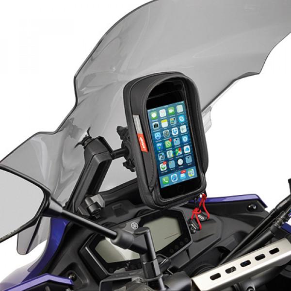 Givi FB4114 crosspiece for mounting GPS-smartphone holder on  KAWASAKI VERSYS 650 15-17