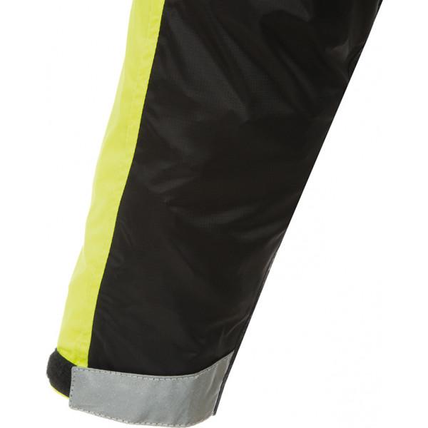 Tucano Urbano Tuta Nano Plus black-yellow Fluo waterproof one piece overall