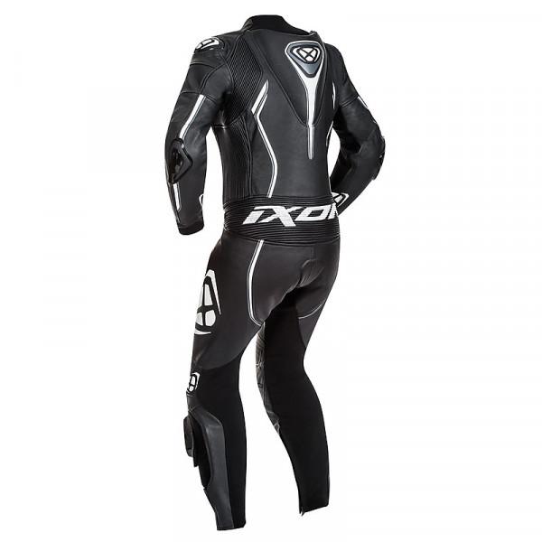 Ixon VORTEX LADY summer woman leather suit Black White