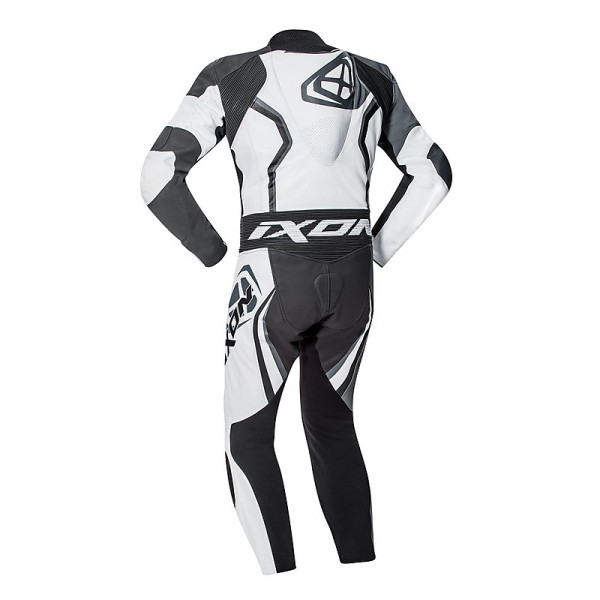 Ixon FALCON summer leather suit White Grey Black