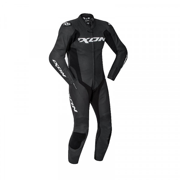 Ixon FALCON summer leather suit Black White