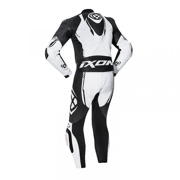 Ixon VORTEX 2 summer leather suit White Black