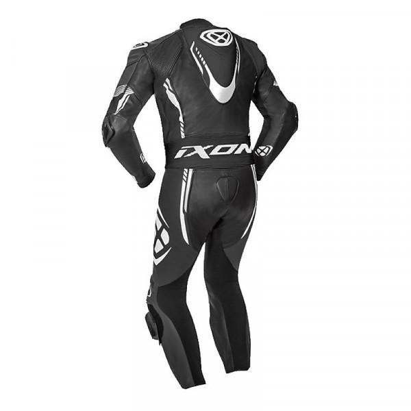 Ixon VORTEX 2 summer leather suit Black White