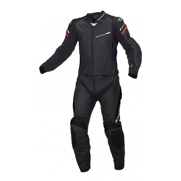 Macna leather suit Hyper 2pc black