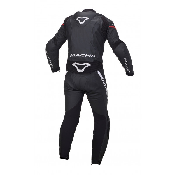 Macna leather suit Hyper black