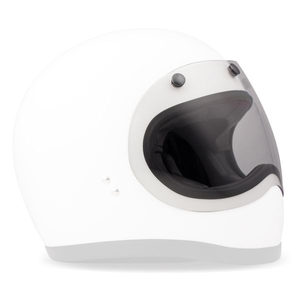 Visiera chiara 3 bottoni DMD COVER per casco RACER